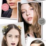 Backstage semana de moda de Nova York: de olho no make e cabelo