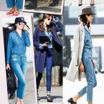 #LookdaMari Jeans com Jeans