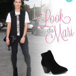 Look do dia: Colete + Ankle Boot
