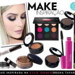 Make Kylie Jenner/Bruna Tavares por Mariana Saad