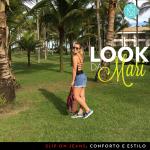 Look da Mari: o bom e velho jeans… no tênis!