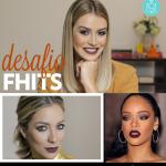 Desafio Fhits: Make inspirada na Rihanna com Helena Lunardelli e Mari Saad