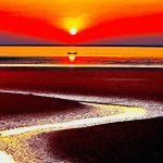 Cinco praias de areias coloridas que deixam qualquer paleta de cor no chinelo
