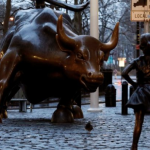 A menina destemida de Wall Street