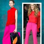 Cartela da Moda: Red + Pink