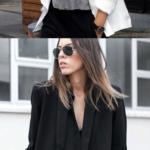 Blazer preto ou branco: aquele coringa que não pode ficar de fora do seu guarda-roupa