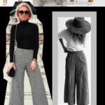 Wide-leg pants ou calça pantalona – como usar?