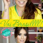 Make para a torcer para o Brasil